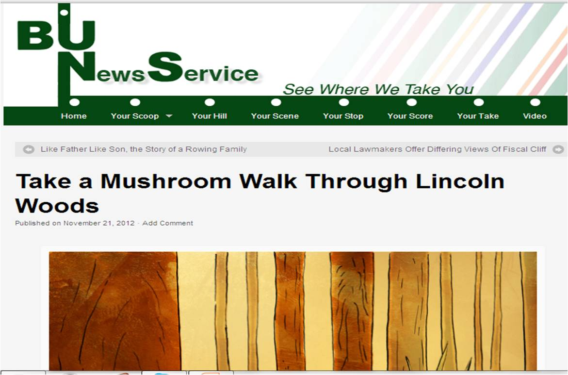 My first published article on BU News Service!